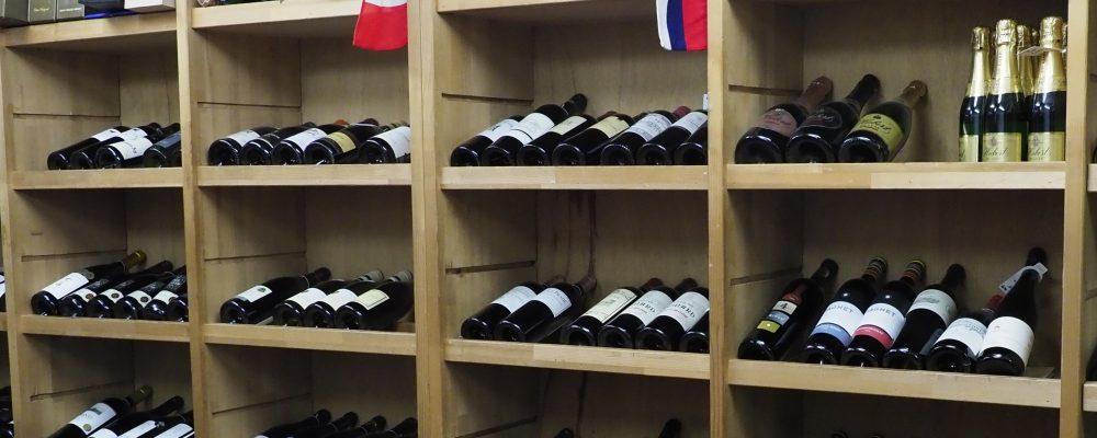 ワインショップシーン